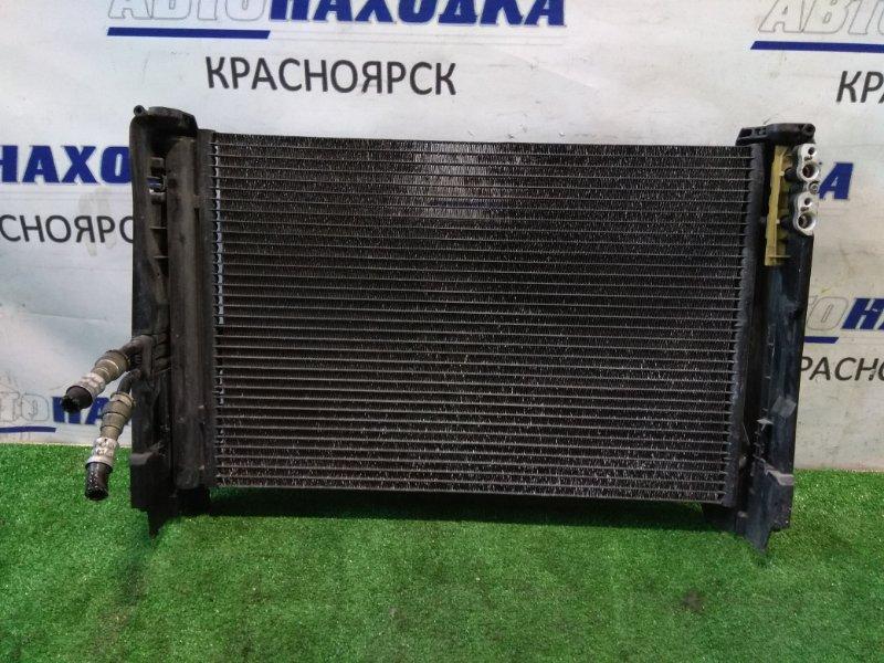 Радиатор кондиционера Bmw 120I E87 N46B20B 2004 64536930038 с бок крепежами и трубками охлаждения