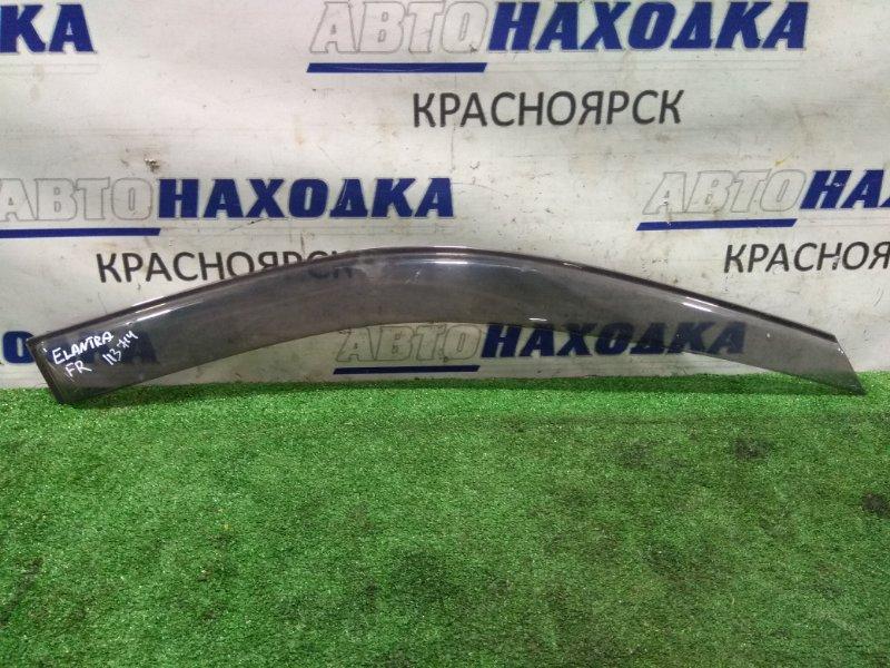 Ветровик Hyundai Elantra XD G4GB 2000 передний правый FR