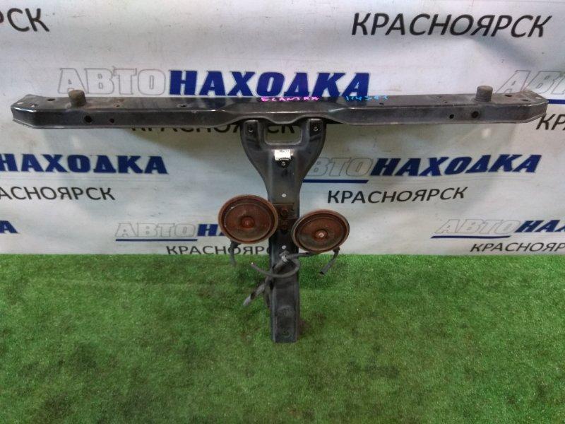 Рамка радиатора Hyundai Elantra XD G4GB 2000 передняя верхняя верхняя часть рамки с верт перемычкой