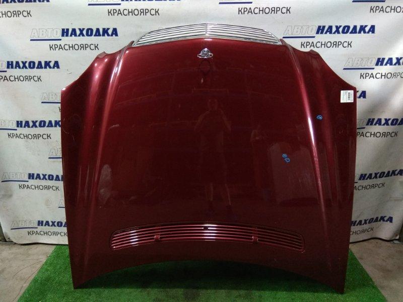 Капот Mercedes-Benz E240 211.061 112.913 2002 с решеткой 1 мод/ три царапины до металла Цвет-красный
