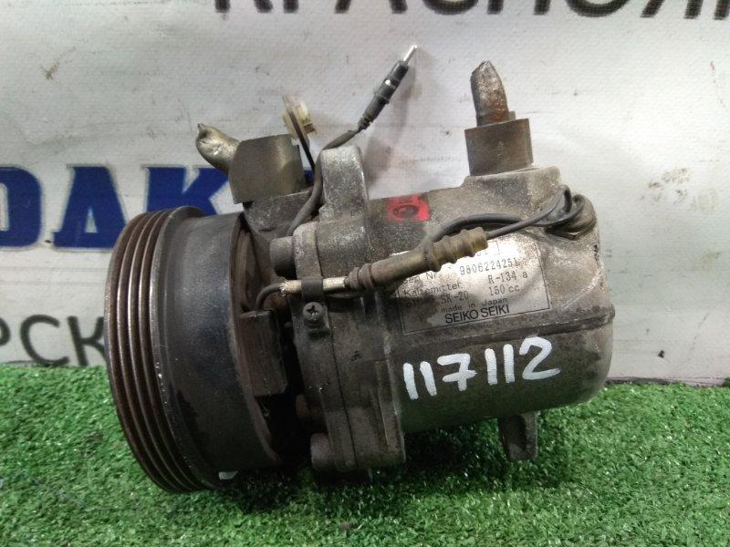 Компрессор кондиционера Bmw Z3 E36 M44 B19 1995 64528390228 снят с ДВС 55 т.км., про-во JAPAN №6452 8 390 228