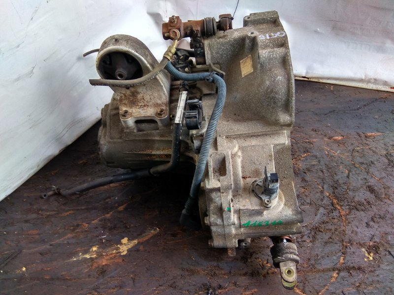 Мкпп Nissan Wingroad WFY11 QG15DE RS5F70A-FR41 K10-6 Датчик скорости электро. Крышка зад на 5 болтов.