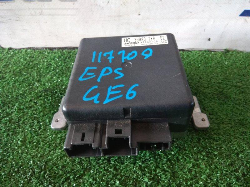 Блок управления рулевой рейкой Honda Fit GE6 L13A 2007 39980-TF6-020 блок управления рулевой