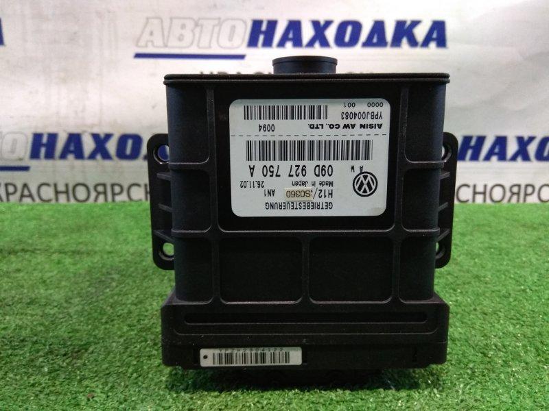 Компьютер Volkswagen Touareg 7LA AZZ 2002 09D927750A, YPBJ004083 Блок управления АКПП