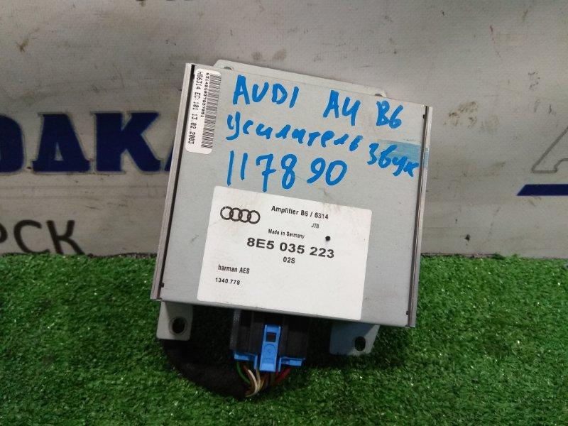 Усилитель звука Audi A4 B6 ALT 2000 8E5035223 Усилитель акустической системы VAG АВТОМОБИЛЬ С
