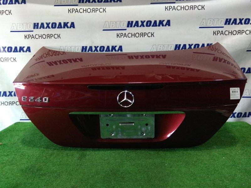 Крышка багажника Mercedes-Benz E240 211.061 112.913 2002 задняя В сборе, цвет красный титанит(код 567U).