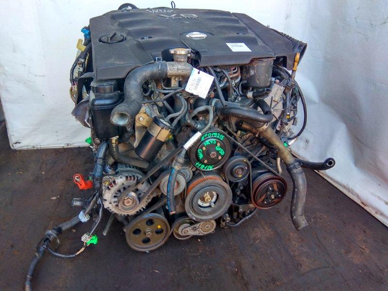 Двигатель Nissan Cima GF50 VK45DD № 019215 В сборе!