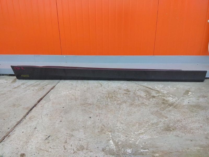 Порог Bmw 320I E90 N46B20 2004 правый 1 мод. графит металлик ( код A22 )