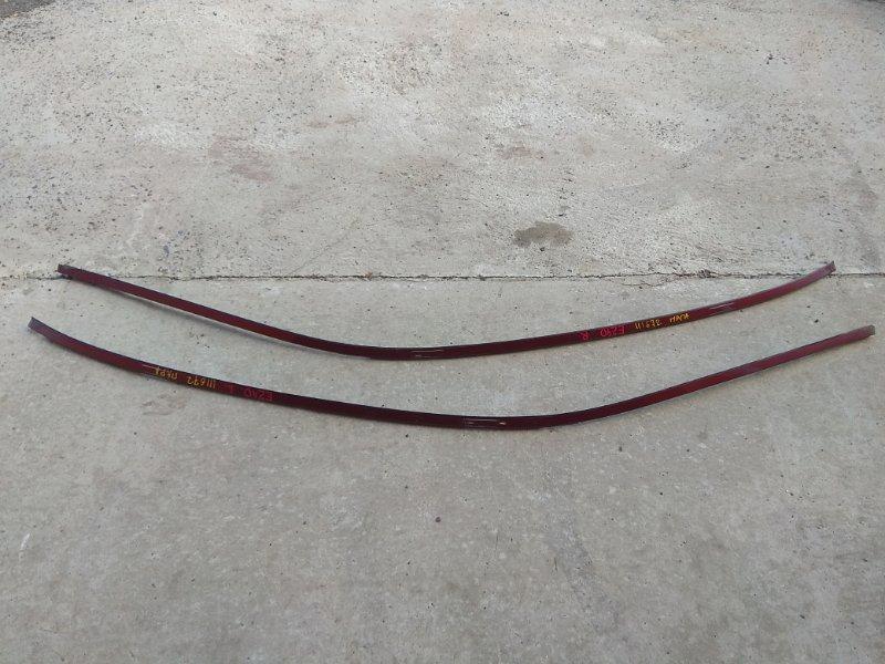 Молдинг Mercedes-Benz E240 211.061 112.913 2002 молдинг крыши, пара, красный титанит(код 567U)
