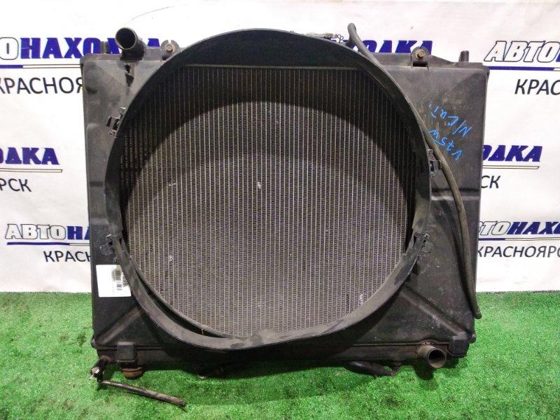 Радиатор двигателя Mitsubishi Pajero V75W 6G74 1999 А/Т+дифузор