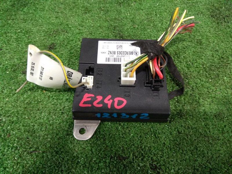 Компьютер Mercedes-Benz E240 211.061 112.913 2002 A2115452132 Блок управления, модуль регистрации