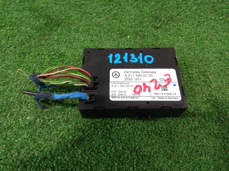 Компьютер Mercedes-Benz E240 211.061 112.913 2002 A2114452500 Блок управления центральным замком