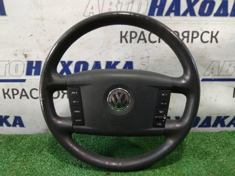 Airbag Volkswagen Touareg 7LA AZZ 2002 водительский, с рулем, без пиропатрона