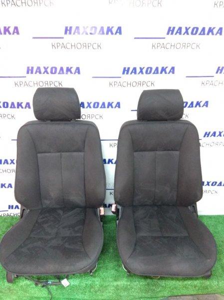 Сиденья Mercedes-Benz E240 210.061 112.911 1995 передняя передние, пара, черная ткань, электро
