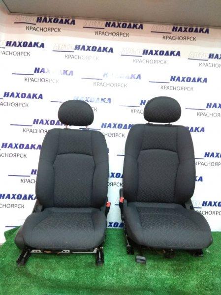 Сиденья Mercedes-Benz C240 203.061 112.912 2000 передняя передние, пара, темно-серые, электро
