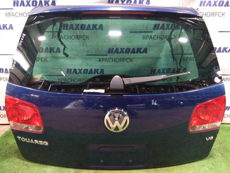 Дверь задняя Volkswagen Touareg 7LA AZZ 2002 В сборе. Цвет P6