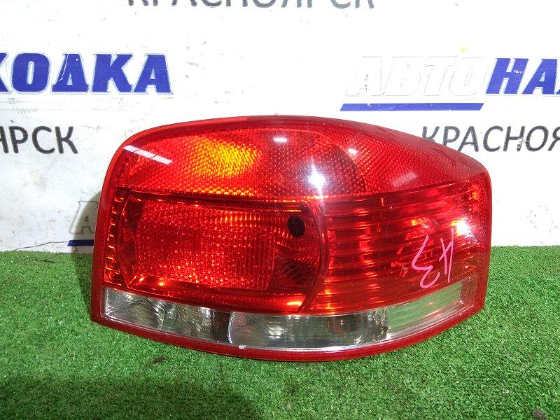 Фонарь задний Audi A3 8P AXW 2003 задний правый 8P0945096A RR трехдверка