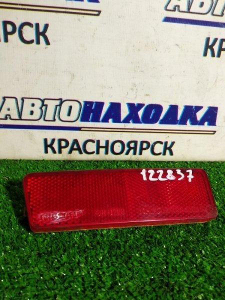 Катафот в бампер Nissan Cube AZ10 задний левый 1 мод