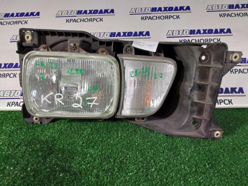 Фара Toyota Town Ace CR30G передняя правая лампа-фара+R туманка 28-79/с крепежом