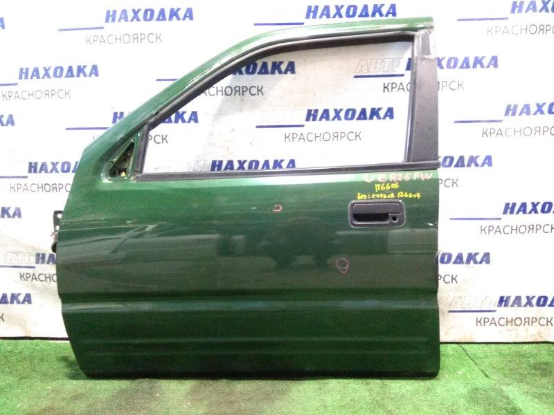 Дверь Isuzu Wizard UER25FW 6VD1 2000 передняя левая FL без стекла