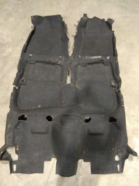 Обшивка пола Toyota Corolla Fielder NZE141G 1NZ-FE 2006 58510-13A30-B2 ковровое покрытие пола в салон