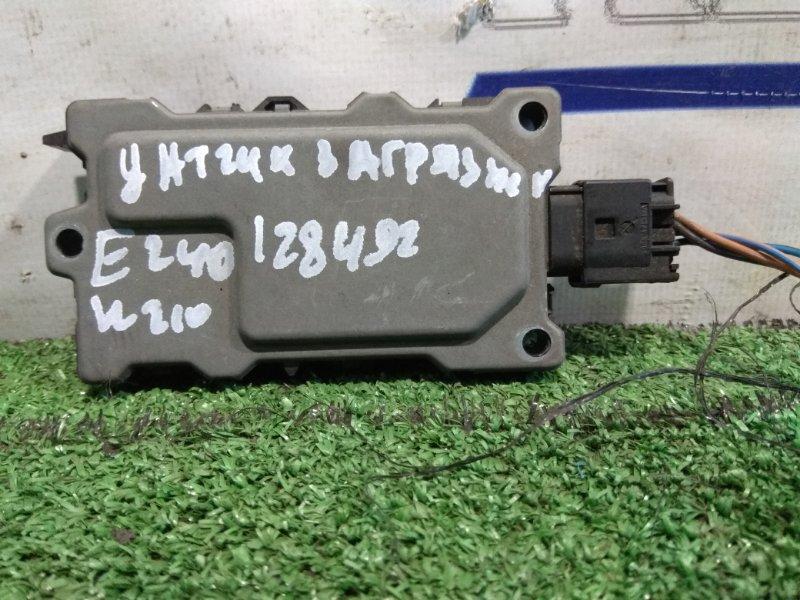 Датчик Mercedes-Benz E240 210.061 112.911 1998 A2108300672 Блок электронный (ДАТЧИК ВРЕДНЫХ ВЕЩЕСТВ НАР.