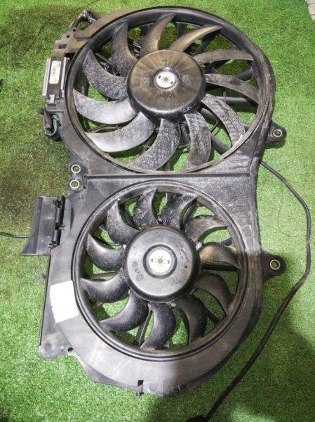 Вентилятор радиатора Audi A4 B6 ALT 2000 FS1223 870765G С радиатора ДВС. Два вентилятора, пластик
