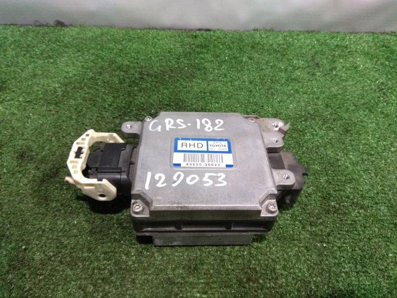Блок управления рулевой рейкой Toyota Crown GRS182 3GR-FSE 2003 89650-30622 блок управления рулевой