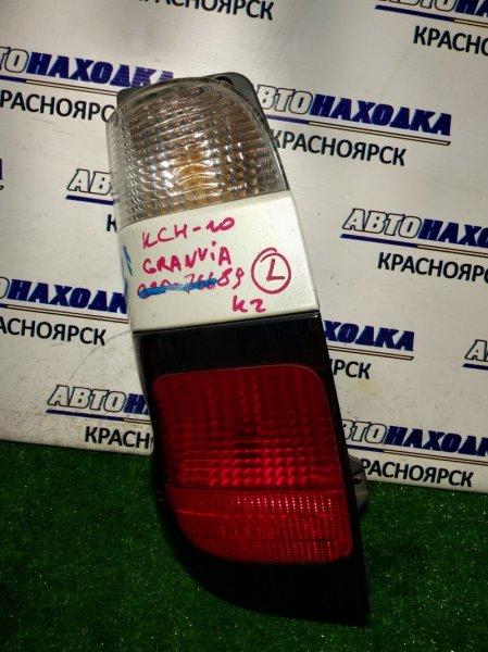 Фонарь задний Toyota Granvia KCH10 1KZ-TE задний левый 26-81 L