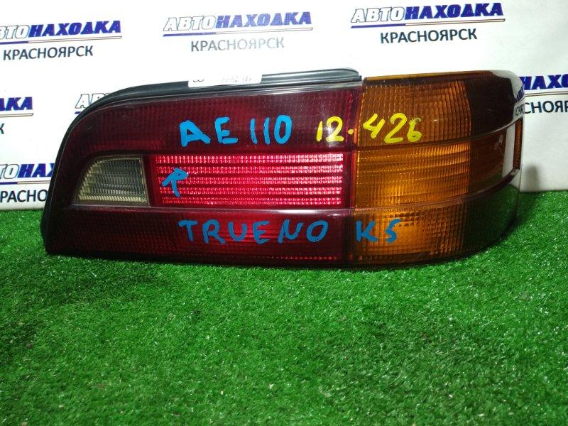 Фонарь задний Toyota Sprinter Trueno AE110 5A-FE задний правый 12-426 R 1мод