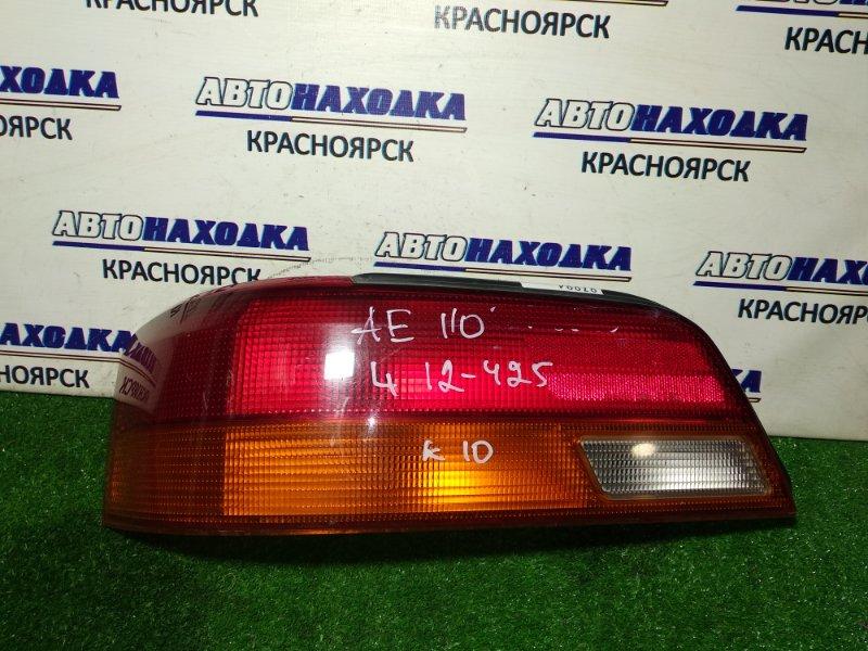 Фонарь задний Toyota Corolla Levin AE110 5A-FE задний левый 12-425 L 1мод