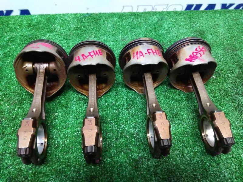 Поршень Toyota Sprinter Carib AE95G 4A-FHE к73 комплект 4шт 76т.к.м с шатунами, кольцами и вкладышами
