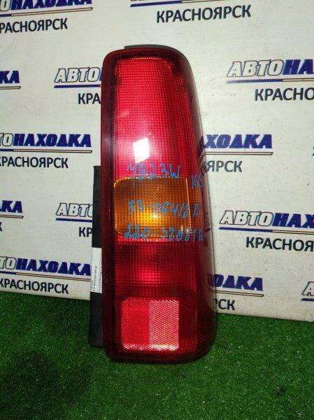 Фонарь задний Suzuki Jimny JB23W K6A задний правый 220-32081 R 33-06418 красн-желтые