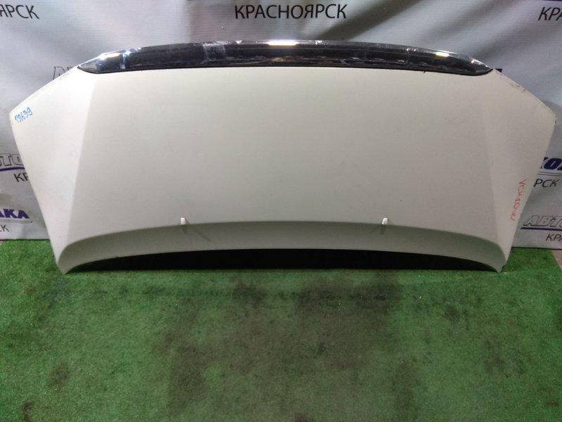 Капот Toyota Granvia VCH10W 5VZ-FE 1999 3 мод (второй рестайлинг) 1999- , хром на планке с дефектом *