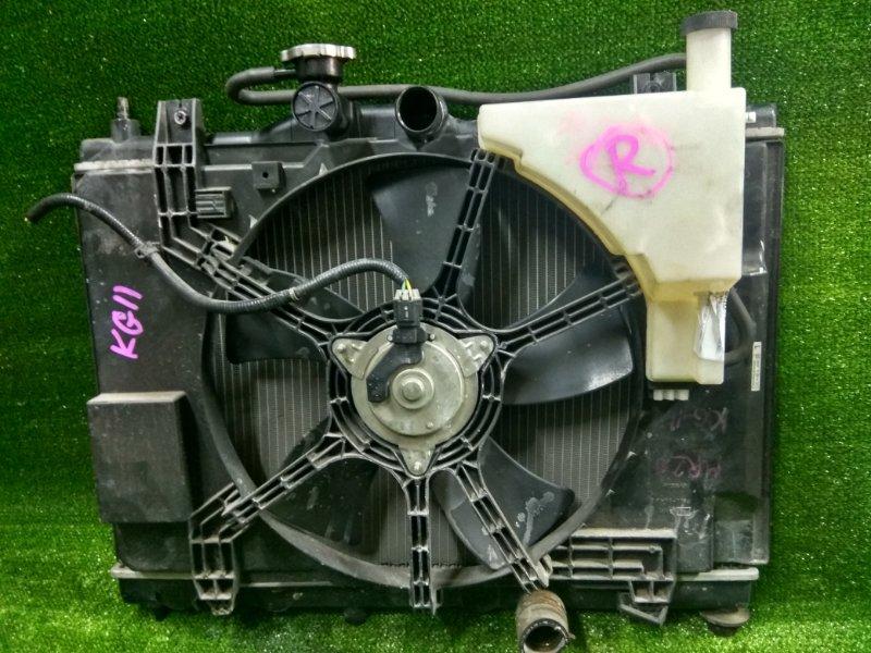 Радиатор двигателя Nissan Tiida C11 HR15DE 2005 БЕЗ ОХЛАЖДЕНИЯ КПП, BLUEBIRD SYLPHY KG11,