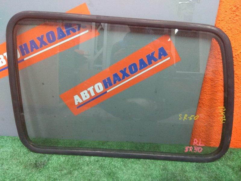 Стекло собачника Toyota Lite Ace Noah SR50G 3S-FE 1998 заднее левое R.L - грузопассажирское, с
