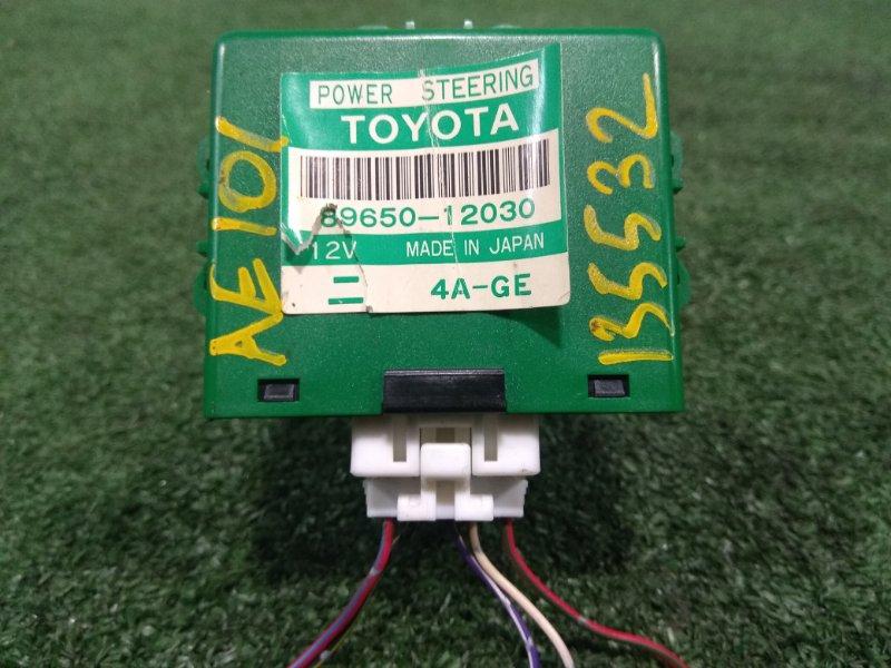 Блок управления рулевой рейкой Toyota Sprinter Marino AE101 4A-GE 1992 89650-12030 блок управления