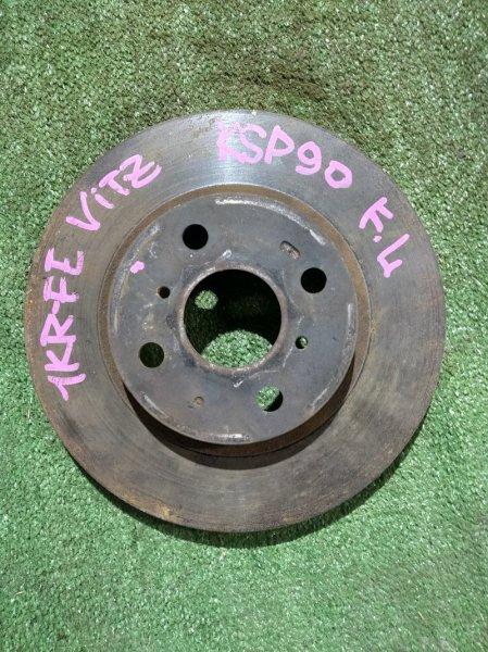 Диск тормозной Toyota Vitz KSP90 1KR-FE передний Ф255, T22, 4 ШПИЛЬКИ, VITZ SCP90,