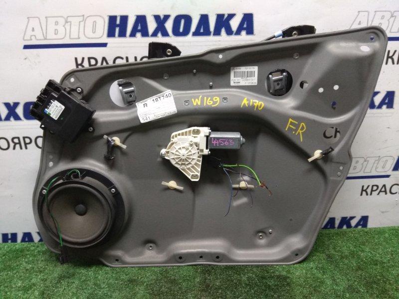 Стеклоподъемник Mercedes-Benz A170 169.032 266.940 2005 передний правый FR 5к