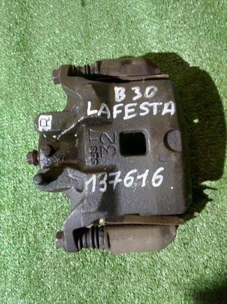 Суппорт Nissan Lafesta B30 MR20DE 12.2004 передний правый