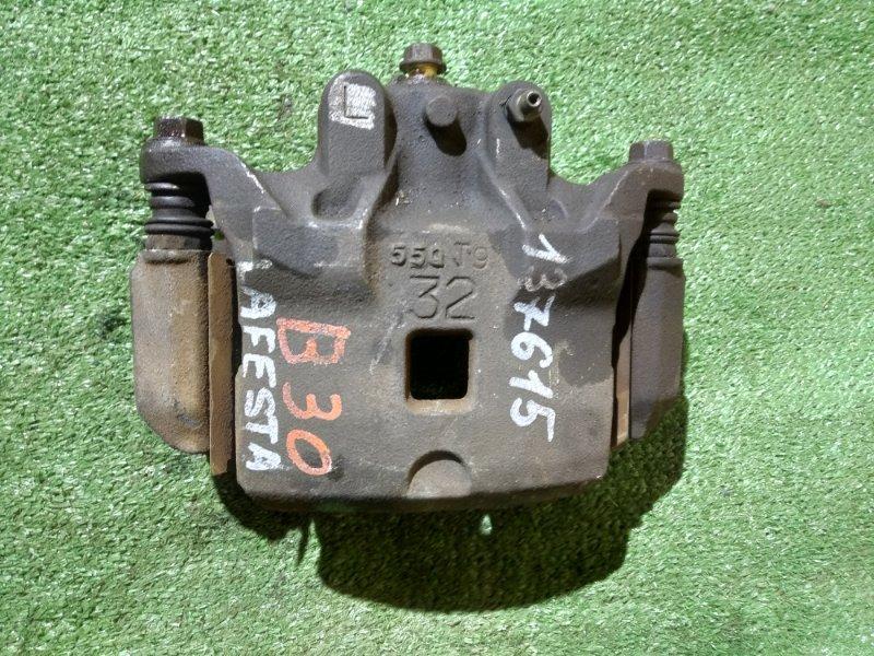 Суппорт Nissan Lafesta B30 MR20DE 12.2004 передний левый