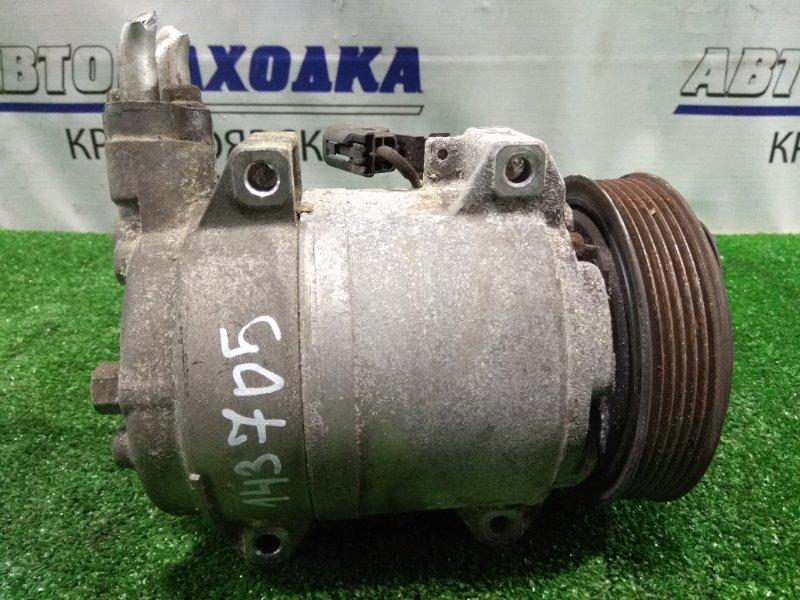 Компрессор кондиционера Mazda Bongo SKF2V RF-T 1999 S0N861K00
