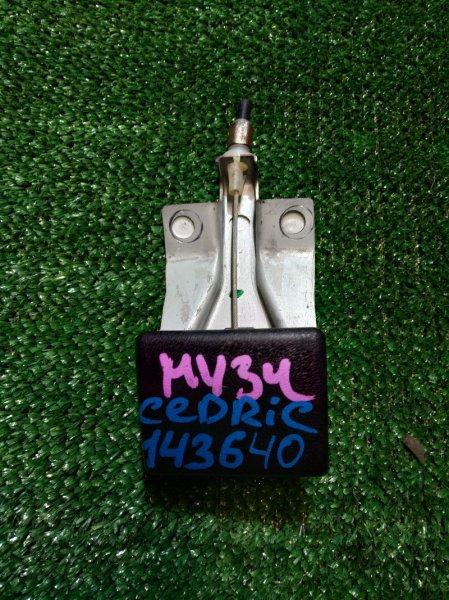 Ручка открывания капота Nissan Cedric HY34 VQ25DD 1999
