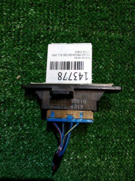 Реостат печки Nissan Presea R11 GA15DE 1995 27150-3S810