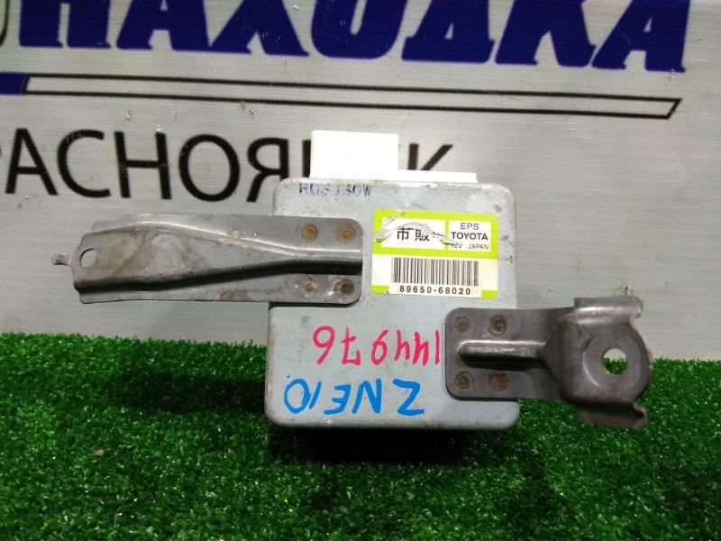 Блок управления рулевой рейкой Toyota Wish ZNE10G 1ZZ-FE 2003 89650-68020 блок управления рулевой