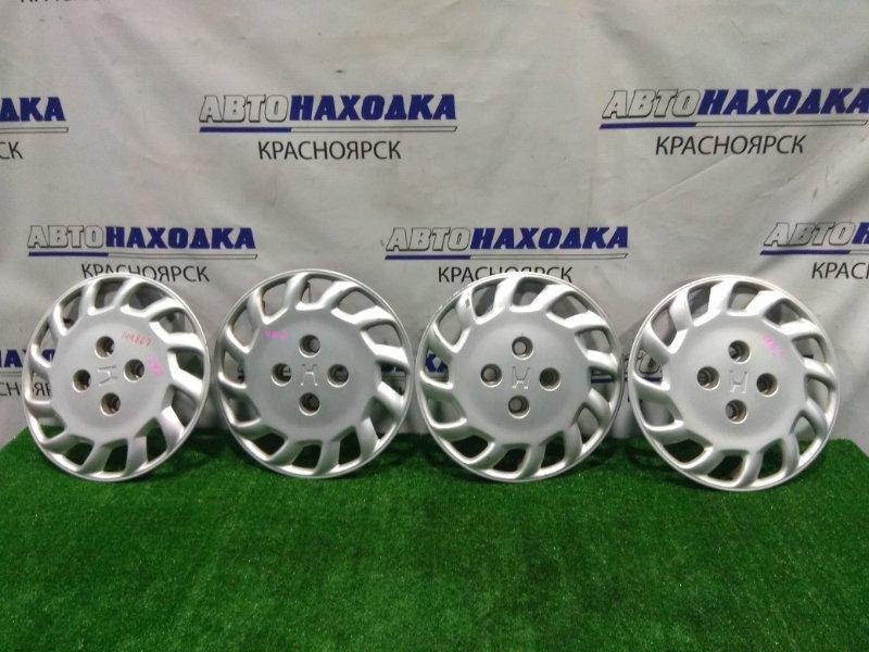 Колпаки колесные Honda Saber UA2 G25A 1995 44733-SW5A-J01 R15 4x114 комплект 4 шт.