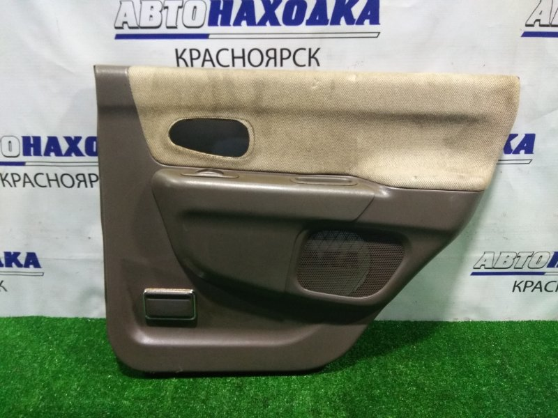 Обшивка двери Mitsubishi Challenger K97WG 4M40 1996 задняя правая MR763698 RR