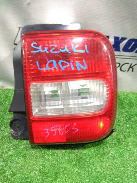Фонарь задний Suzuki Alto Lapin HE21S K6A 2002 задний правый 35603-75H0, 35650-75H00, 35650-75H01, 35650-75H02 R