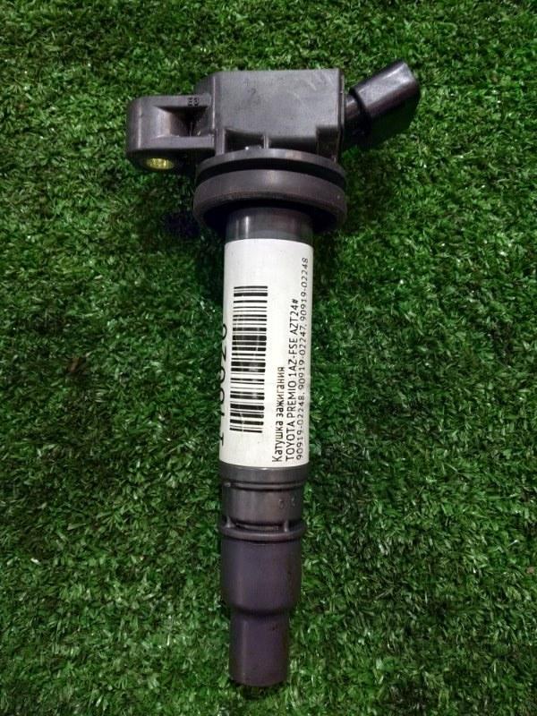 Катушка зажигания Toyota Avensis AZT24# 1AZ-FSE 90919-02248 (2AZ-FE ТОЛЬКО BLADE AZE15#, CAMRY ACV4# MARK 90919-02248, ESTIMA