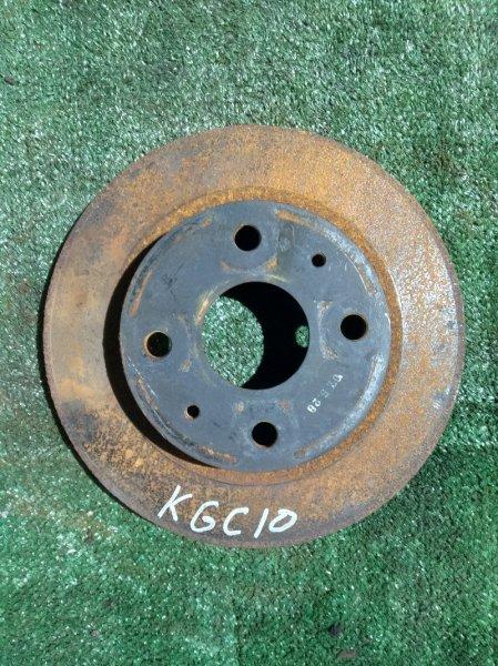 Диск тормозной Toyota Passo KGC1# 1KR-FE передний RN1481V Ф234, T16, 4 ШПИЛЬКИ. PASSO KGC10,